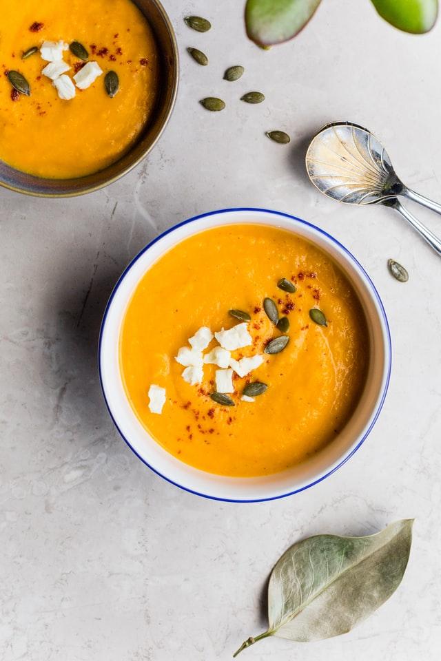 Gezond soepje ter inspiratie